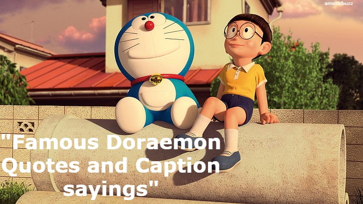 Famous Doraemon Quotes and Caption sayings