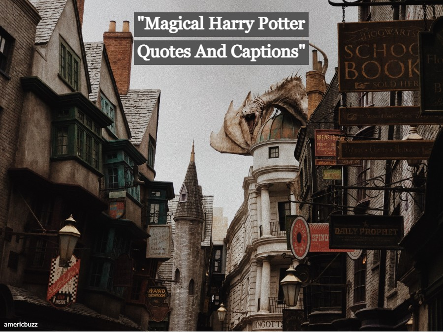Magical Harry Potter Quotes And Captions